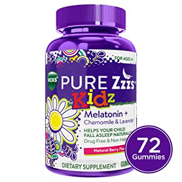 Amazon.com: Vicks Pure Zzzs Kidz Melatonina Lavanda ...