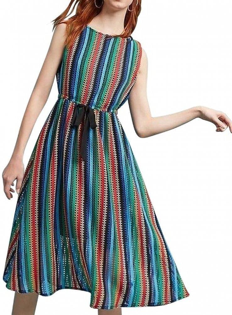 7119840fb8d50 Top10: Anthropologie Rainbow Crochet Midi Dress by Eva Franco $188 Sz 2 -  NWT