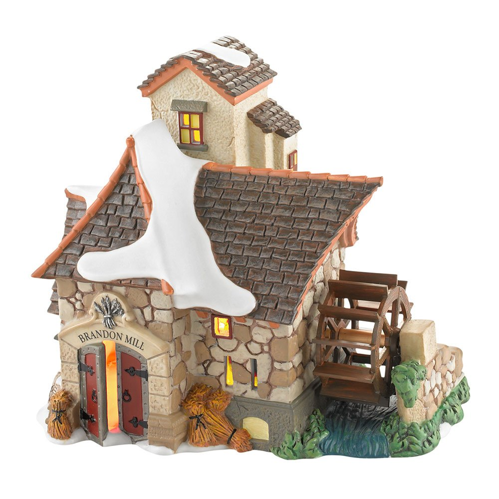 Department 56 Dickens' Village Brandon Mill Lit House, 6.1 inch by Department 56