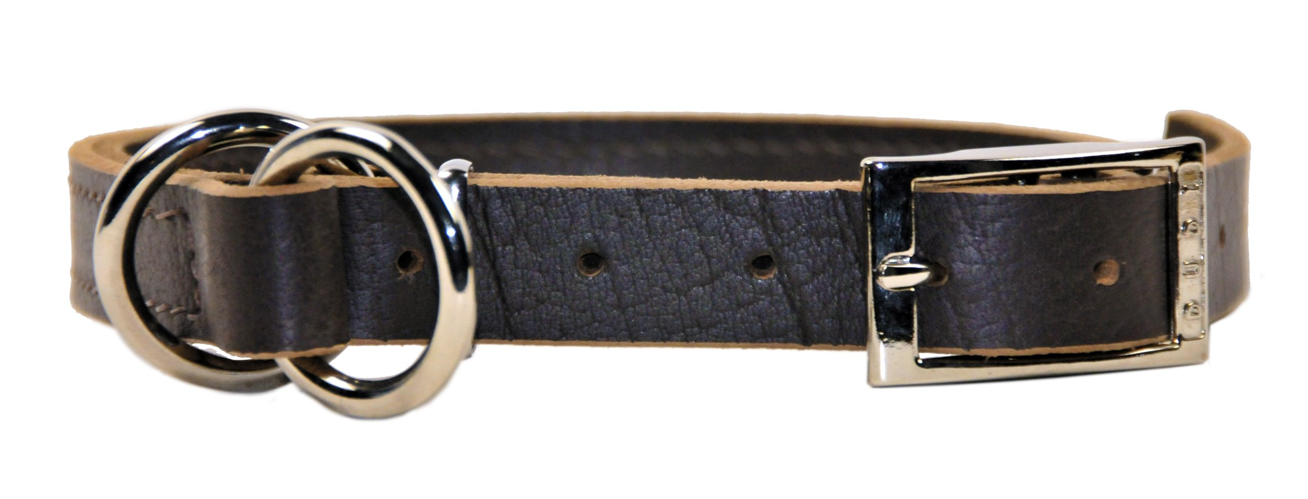 Dean and Tyler ''STRICTLY BUSINESS'', 2-in-1 Dog Choke Collar with Solid Nickel Hardware - Black - Size 22-Inch by 1-Inch - Fits Neck 20-Inch to 22-Inch