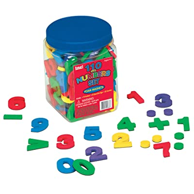 Lauri Foam Magnets - Numbers: Toys & Games