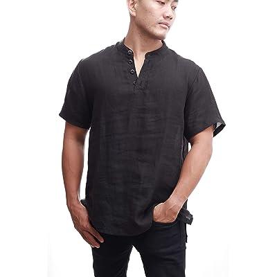 100% Hemp Fiber Shirt Environmentally Friendly Comfortable Moisture Wicking Strong and Soft: Clothing
