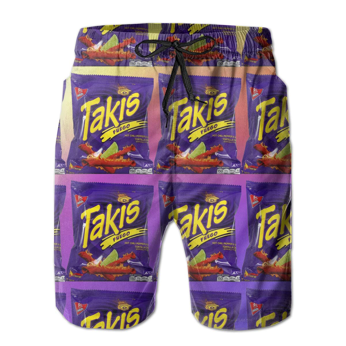 Amazon.com: Takis Fuego Mens Summer Casual Drawstring ...