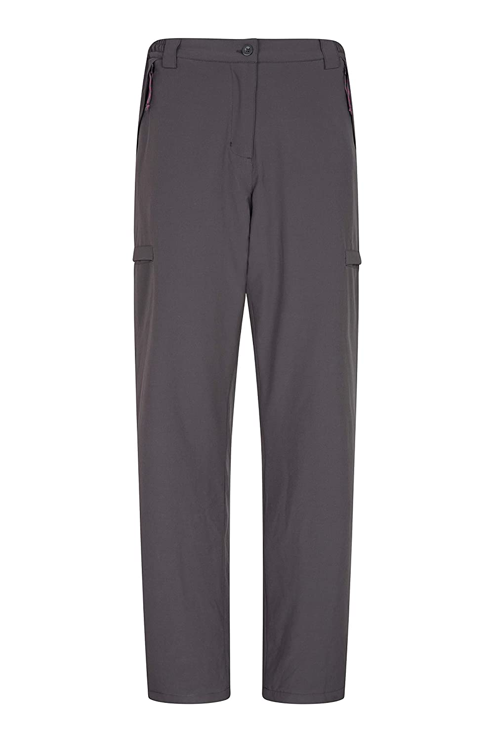 Mountain Warehouse Arctic Thermal Womens Trousers - Fleece Lined Winter Pants, Stretch, Many Pockets, Inner Waistband Ladies Bottoms, Warm Walking, Camping, Hiking