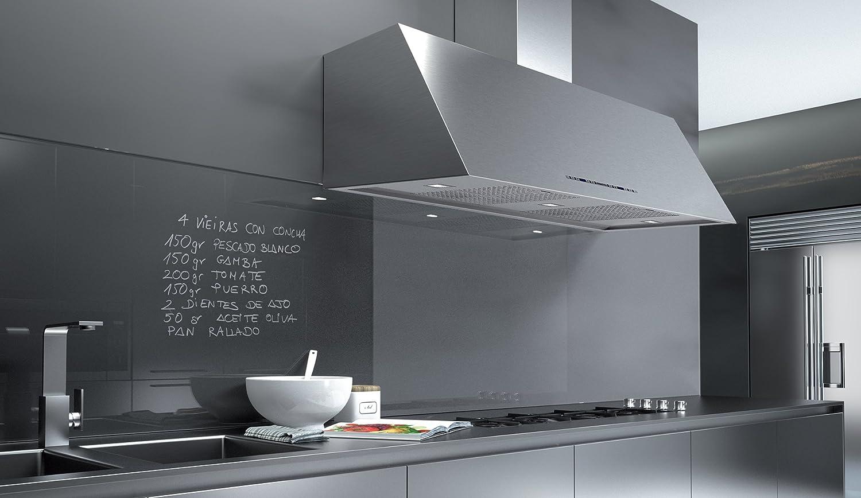 frecan – Campana de pared profesional – 90 cm – acero inoxidable: Amazon.es: Grandes electrodomésticos