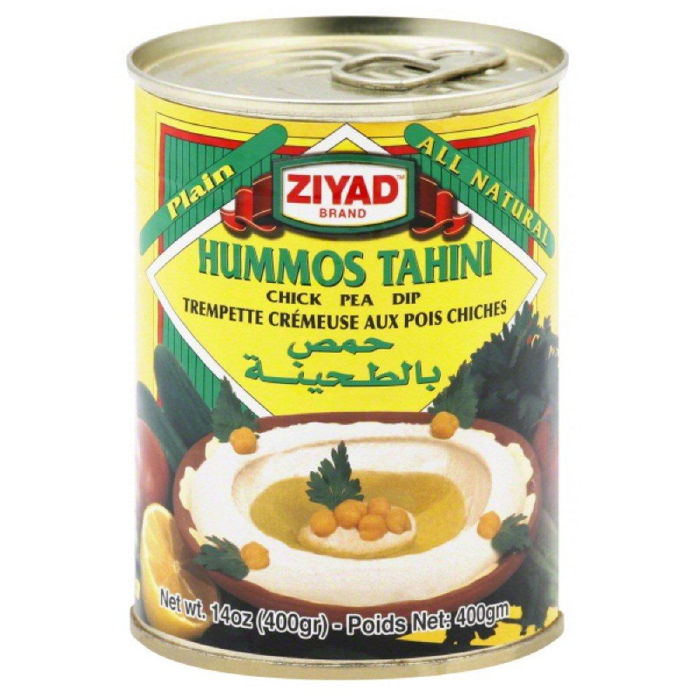 Ziyad Hummos Tahini Chick Pea Dip, 14 Ounce - 6 per case.
