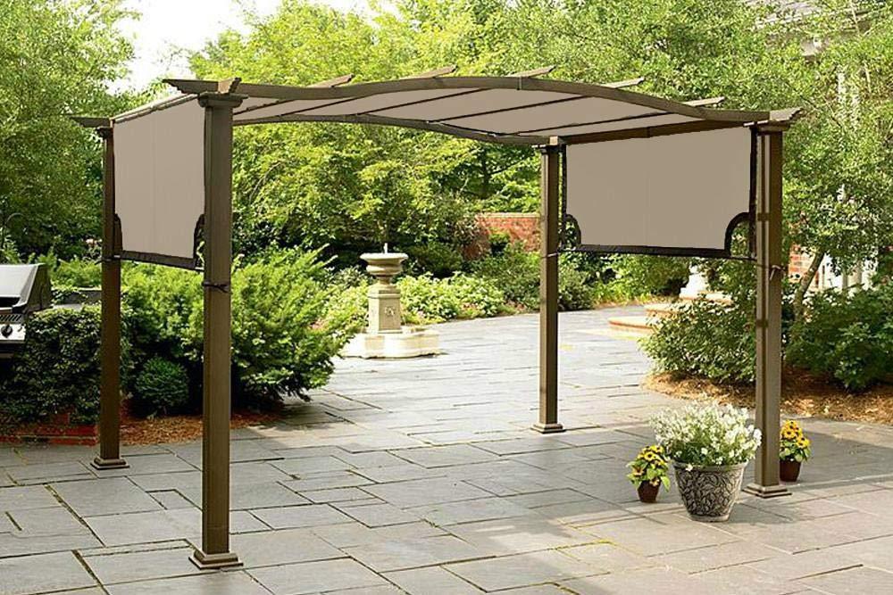 The Outdoor Patio Store Sears Garden Oasis Pergola Canopy - High Grade 300D by The Outdoor Patio Store