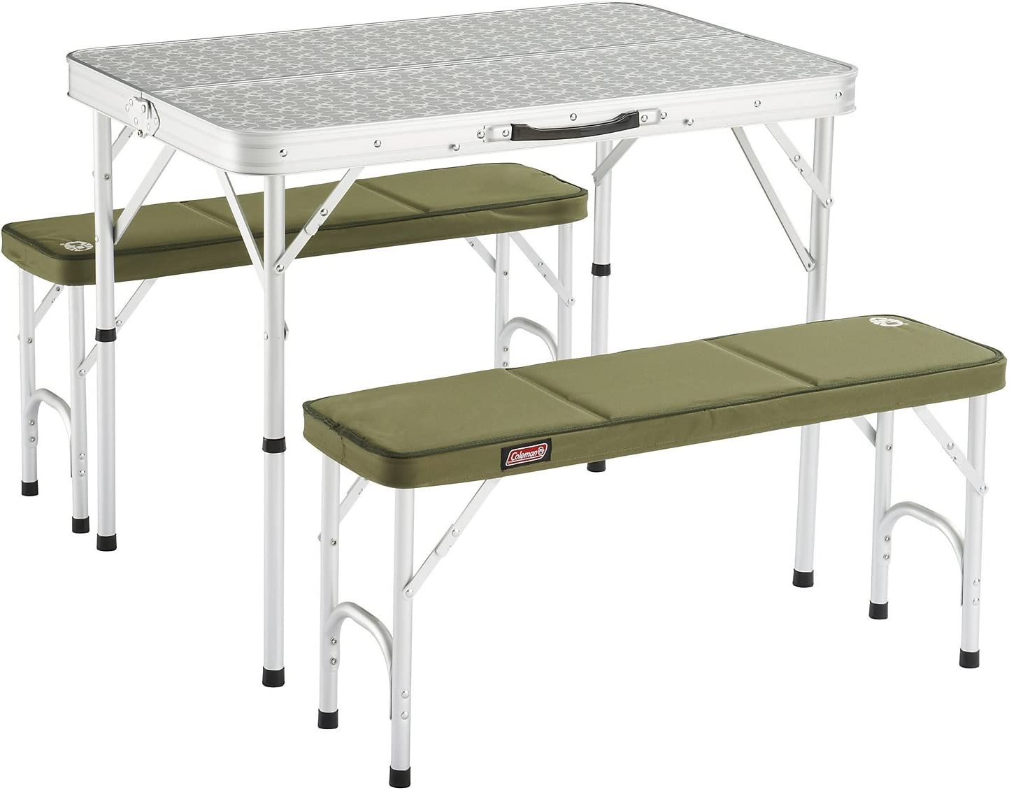 Coleman 205584 Mesa de Camping, Campingtisch Pack-Away(TM) Table for 4, Blanco: Amazon.es: Deportes y aire libre