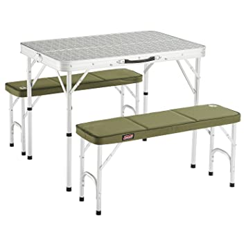 Coleman Packaway Table, Silver: Amazon.co.uk: Sports & Outdoors