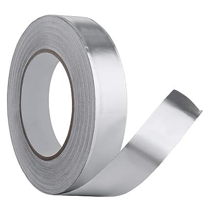 Cinta Adhesiva de Aluminio,WOLINTEK Rollos autoadhesivos de la cinta de la hoja del aislamiento