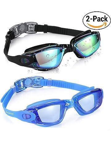 eef37f76 Aegend Swim Goggles, Swimming Goggles No Leaking Anti Fog UV Protection  Triathlon Swim Goggles with