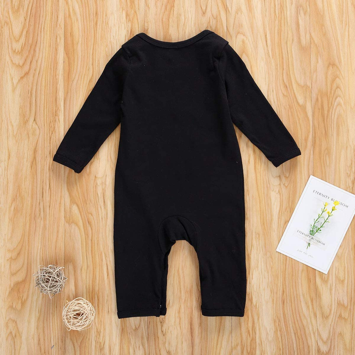 Luckinbaby Newborn Baby Boy Girl Halloween Costume Skull Romper Jumpsuit Bone Skeleton Outfits Clothes My 1st Halloween