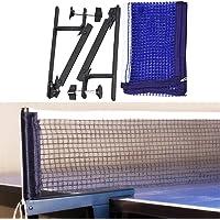 Red de Tenis de Mesa, Red Ajustable de Ping Pong Repuesto Portátil Retráctil para Entrenamiento Abrazaderas, Longitud…
