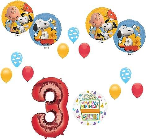 Amazon.com: Charlie Brown y decoraciones de Snoopy peanuts ...