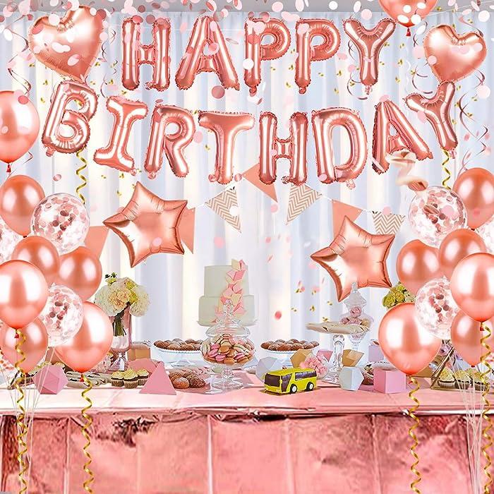 Top 10 Balloon Pink Decor