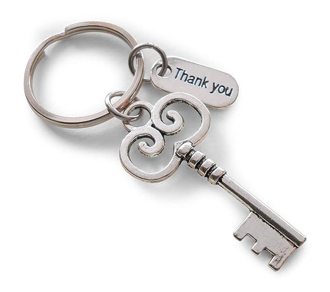 Amazon.com: llave llavero regalo de agradecimiento para ...