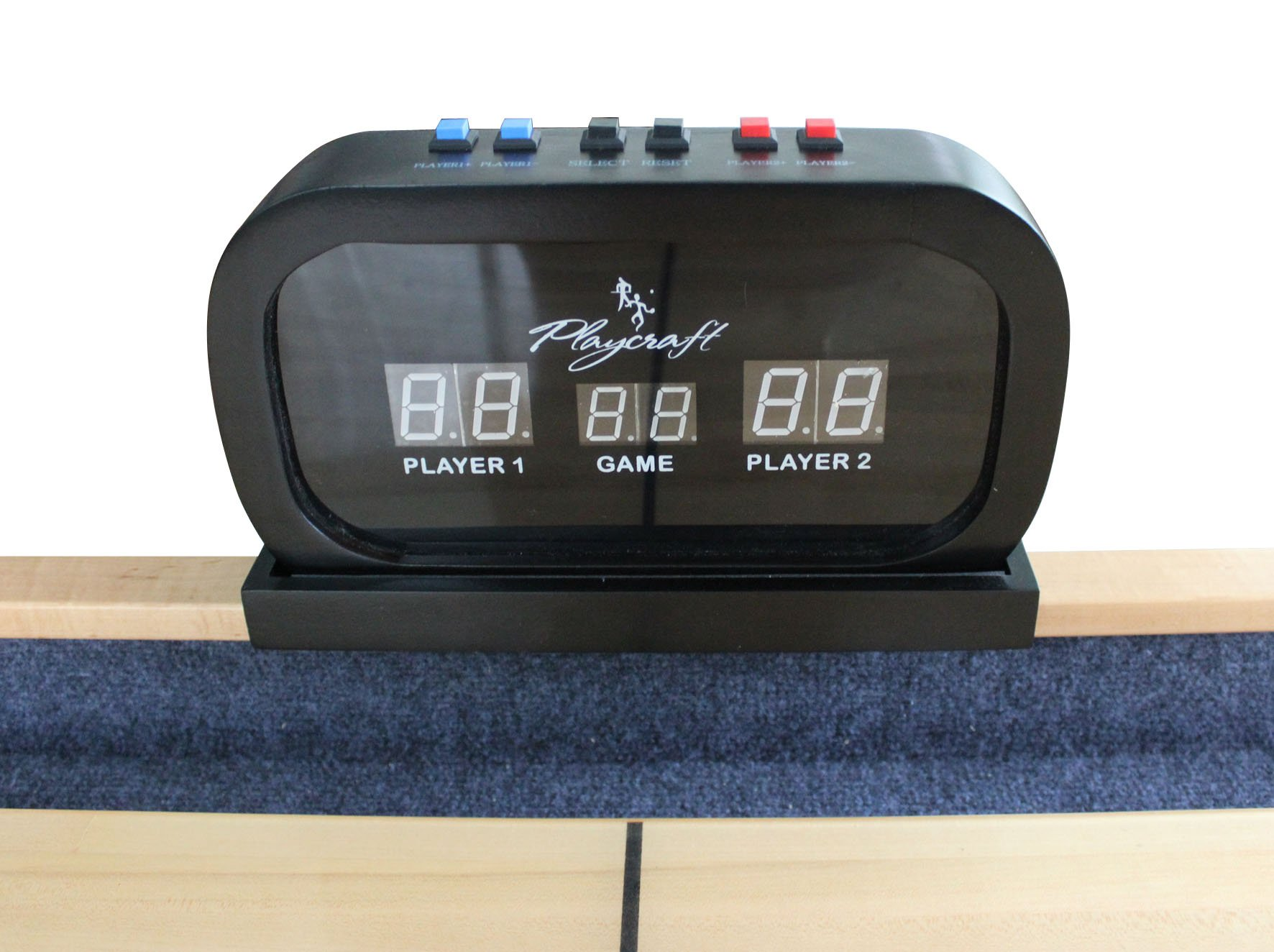 Playcraft Electronic Scorer for Home Recreation Shuffleboard Table - Black by Playcraft