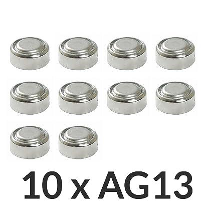 9e8d5b0e9 Envio GRATIS] 10 x AG13 LR44 G13-A D303 L1154 L1154F alcalina pila ...