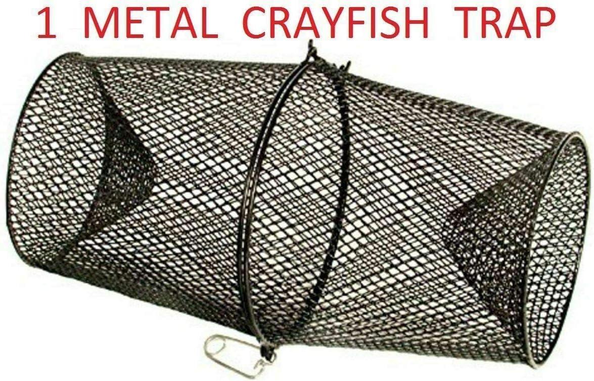 SLEE Metall-Krallenfalle f/ür Lebenk/öder Fische und Krabbenk/äfig Garnelen