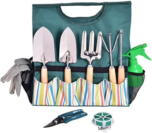 Amazon Com Usa Best Seller 10 Pcs Gardening Planting Hand Tools