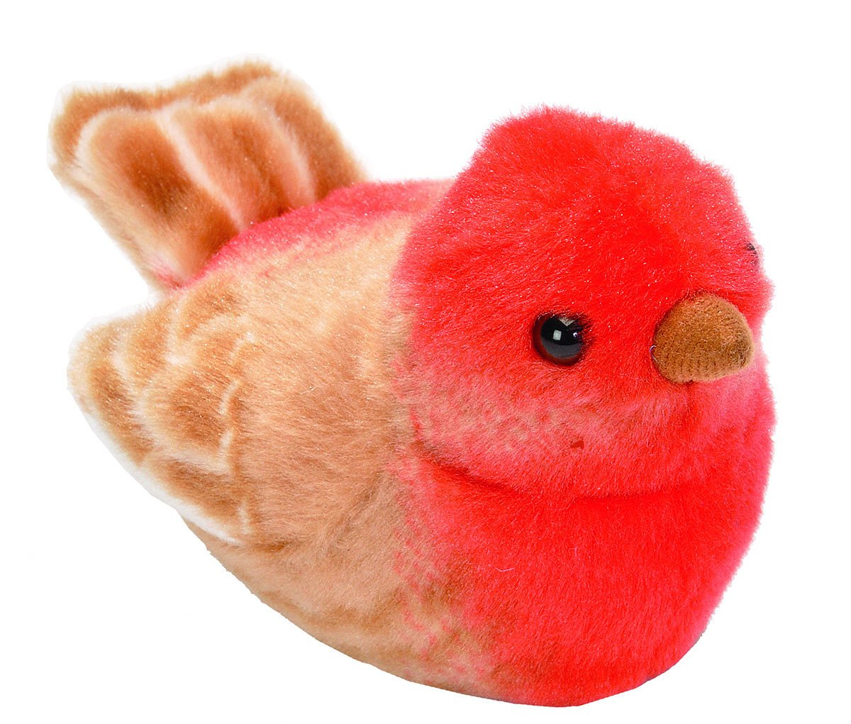 Wild Republic Audubon Birds Northern Cardinal Plush With Authentic