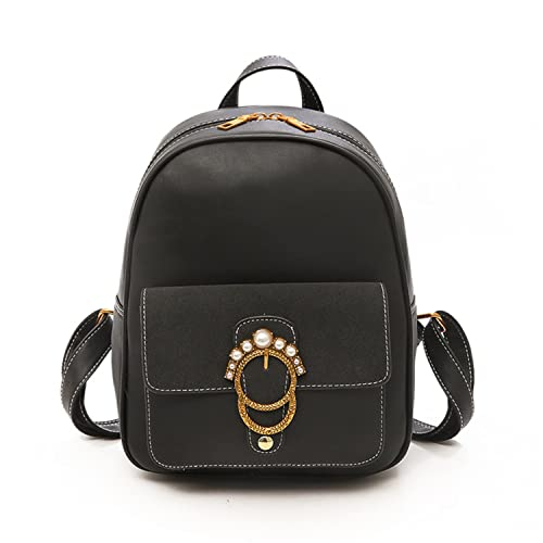 Amazon.com  Cheryl Bull Fashion Women Backpack PU Leather School Bags For Teenagers  Girls Small Backpacks Female Back Pack Black  Shoes e5304aefe0