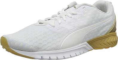 Puma Damen IGNITE Dual Wn's Laufschuhe, Weiß White Gold 01