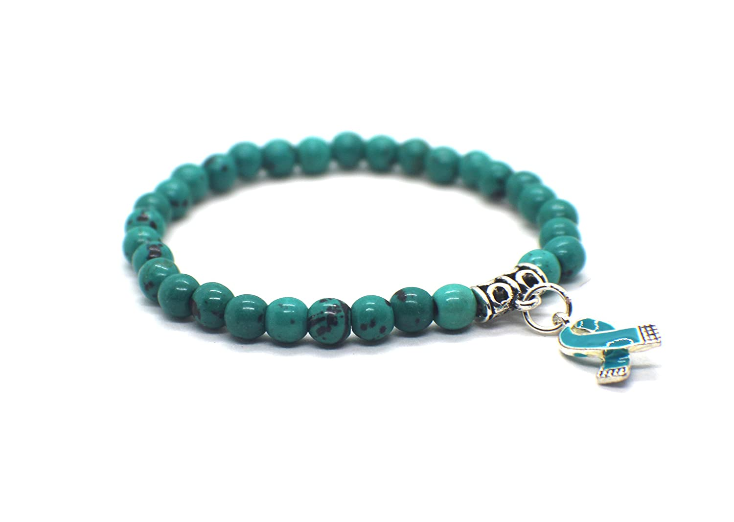 anti bracelet bullying charm ocd awareness il ovarian fullxfull cancer teal zoom listing