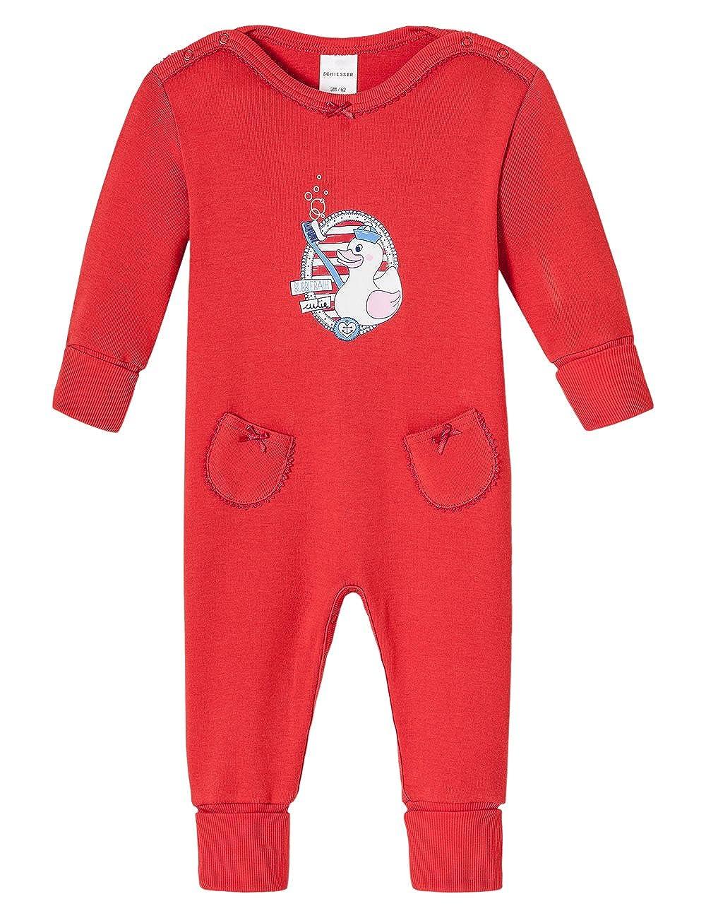 Schiesser Baby - Mädchen Einteiliger Schlafanzug Baby Anzug Mit Vario Schiesser AG 146155
