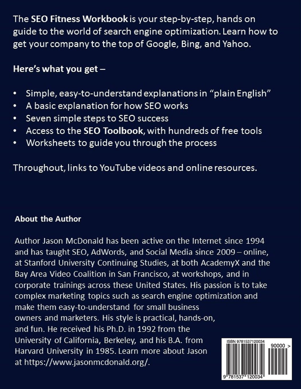 Amazon.com: SEO Fitness Workbook: 2016 Edition: The Seven Steps to ...
