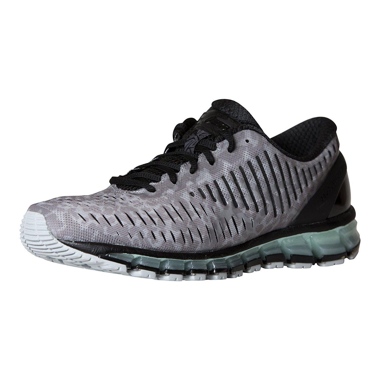 ASICS Women's Gel-Quantum 360 cm Running Shoe B077SV4679 10 B(M) US|High Rise/Frost Grey/Blue Light