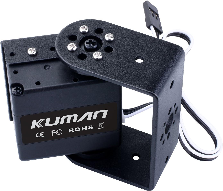 Kuman 17KG High Torque Robot Digital de Servo Motor con 270 Grados de rotación, Soporte U, Caja de Montaje Lateral, para Robot de Helicóptero, Avión, Bote KY72-1: Amazon.es: Juguetes y juegos