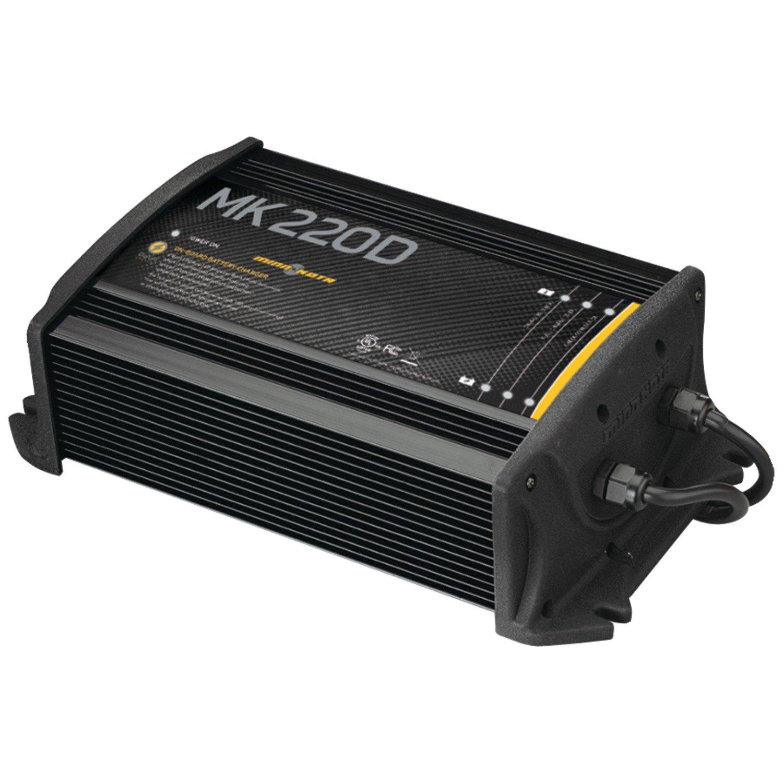 MinnKota MK 220D On-Board Battery Charger (2 Banks, 10 Amps Per Bank) by Minn Kota