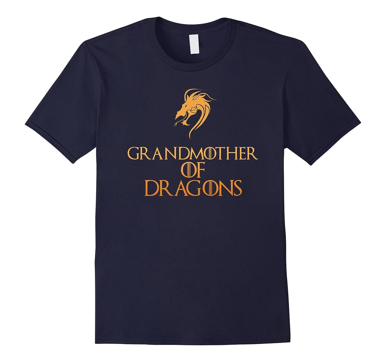 Grandmother Of Dragons T-Shirt Halloween Costume Top Tee-FL