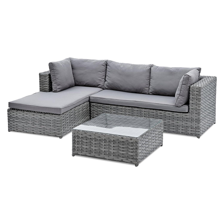 Belardo Lounge-Set Xestia inkl. Sitz- und Rückenkissen
