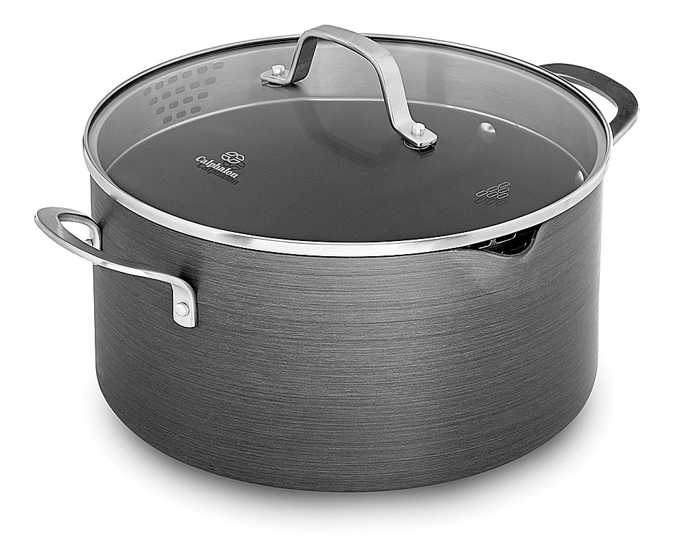 Calphalon Classic Nonstick Dutch Oven with Cover, 7 quart, Grey by Calphalon