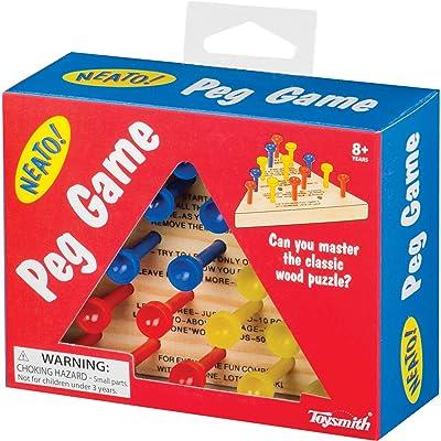 Toysmith Peg Game: Toysmith: Toys & Games