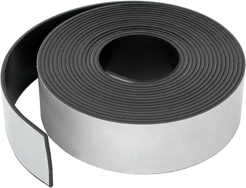 Length Self-Adhesive Magnetic Craft Tape Width Polarity A//Premium Adhesive x 12.5mm 0.5m