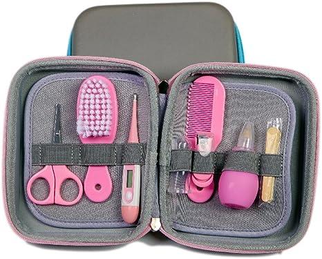 Neceser aseo para tu bebé bolso de aseo bebe de mano o de viaje Para llevar las cositas del bebé en todo momento set aseo bebé: Amazon.es: Bebé