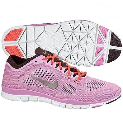 NIKE WMNS Free 5.0 TR FIT 4 Damen Sneaker, rosa rosa