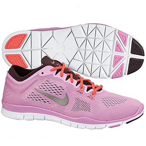 pretty nice dd26e d9224 Nike WMNS Free 5.0 TR Fit 4 Trainers for Women Pink Size: 3 ...