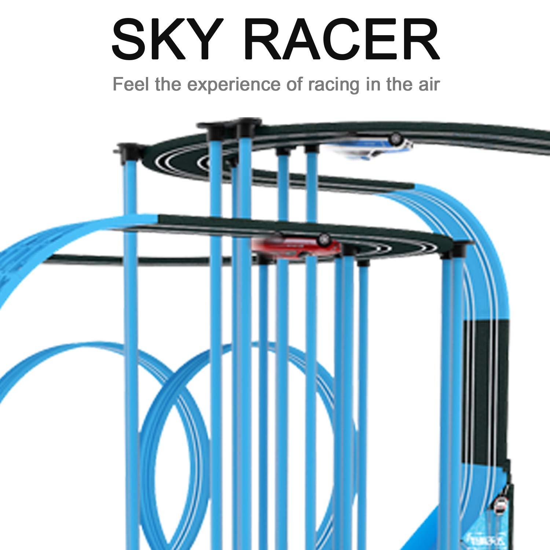 Sky Racer Slot car Race Set TR-39L 1:64 Scale