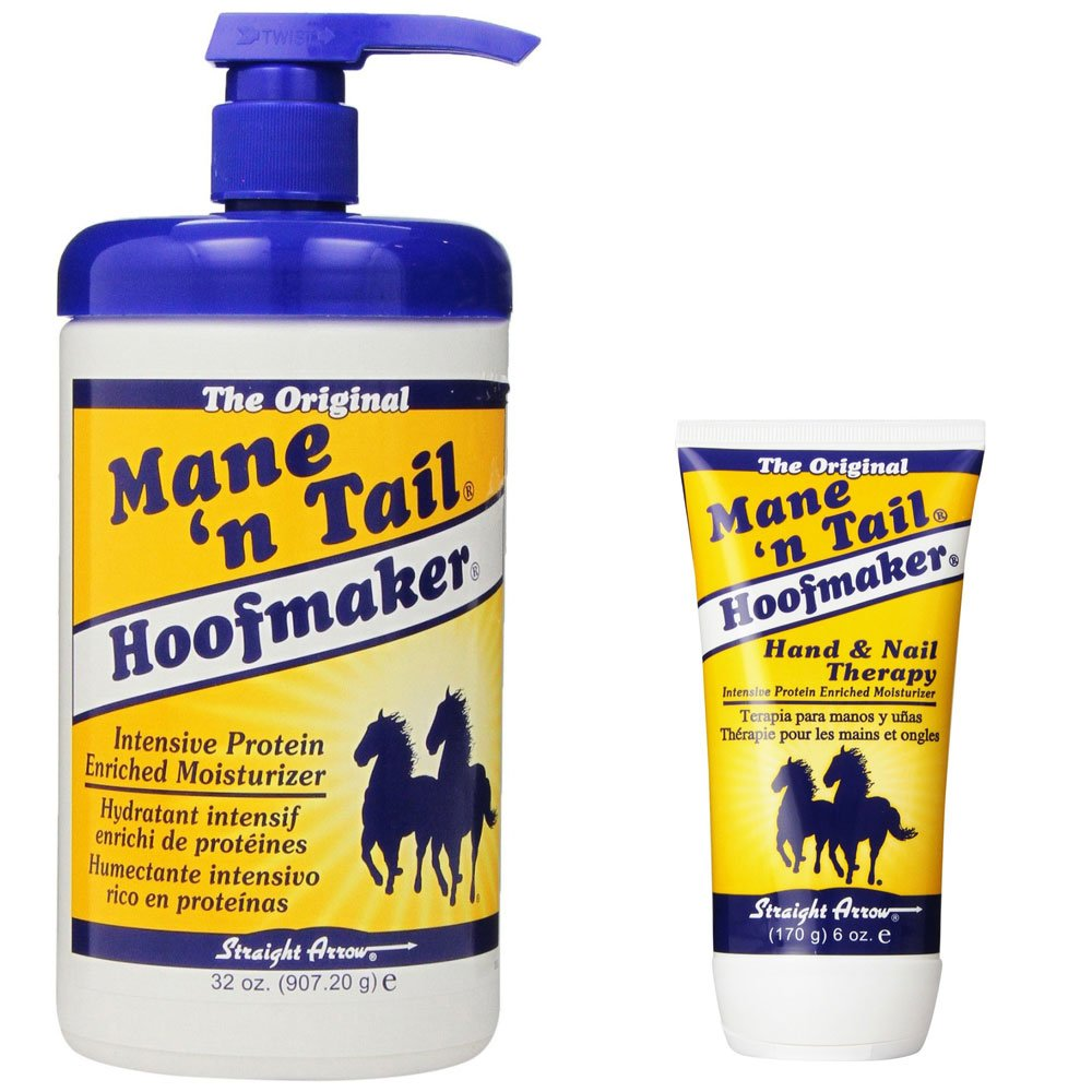 Amazon.com: Mane \'n Tail Hoofmaker Hand & Nail Theraphy 32oz and 6oz ...