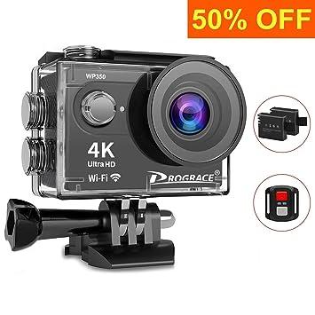 Prograce Action Camera Underwater Waterproof Video Sports Camera