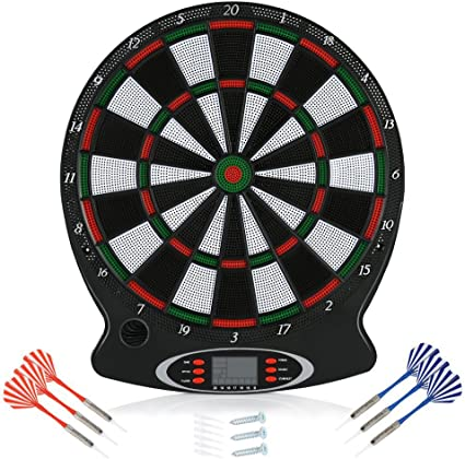 Arachnid Bullshooter Lightweight Electronic Dartboard with LCD Scoring Displays,