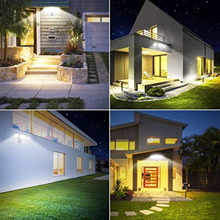 Samuyang LED Solar Security Lights