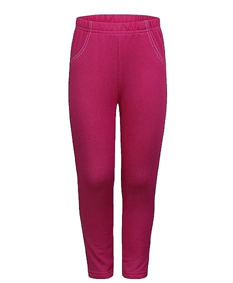 Amazon Com Girls Jeggings Kids Fashion Soft Leggings Stretchy