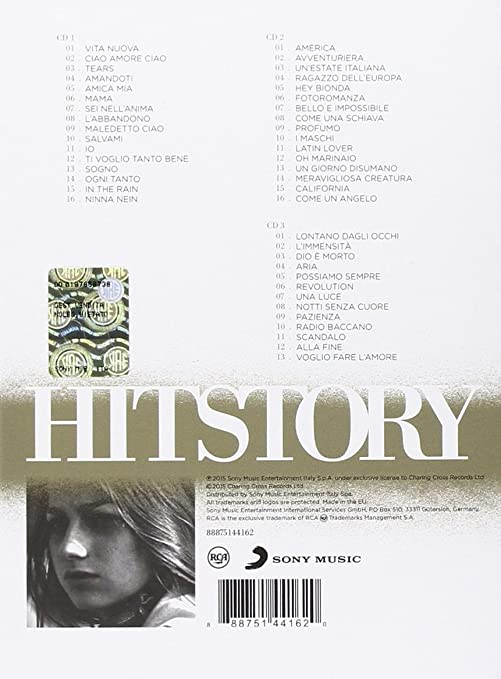 Gianna Nannini Hitstory Deluxe Edition Amazon Music