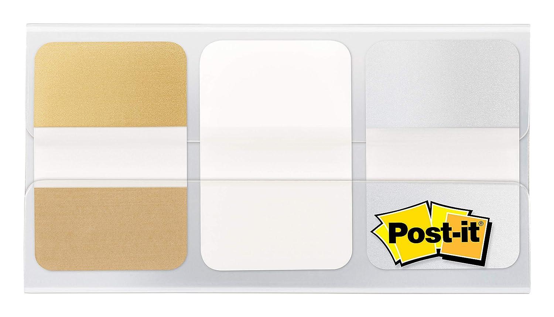 Metal Color 686-METAL Post-it Flags 1 in x 1.5 in
