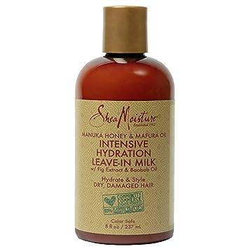 Sheamoisture Hydration Hair Milk for Dry Hair Manuka Honey and Mafura Oil to Hydrate and Style Hair 8 oz